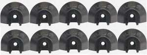 End Cap for Surface Angled Series L-Track 10 PACK   QC06059