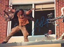 LAWRENCE GILLIARD SIGNED 11X14 PHOTO BOB THE WALKING DEAD TWD AUTO