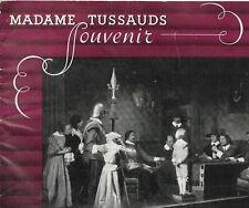 """Livre / Guide - MADAME TUSSAUDS SOUVENIR - 28 pages en Anglais - Année 50"""""""