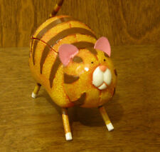 """CAT TRINKET BOX #4224-3 NEW  From Retail Store by RANGER 3.25"""""""