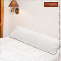 Bolster Pillows King Size 6ft Hungarian Goose Feather and Down Maternity Support