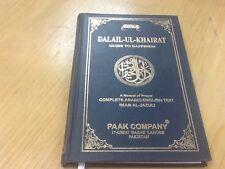 Dalail-ul-Khairat (Guide To Happiness) By Imam Al-Jazuli HB Eng/Arabic Prayer