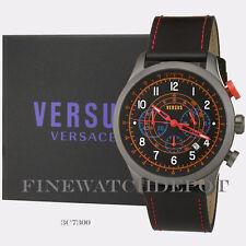 Authentic Men's Soho Black Versus Versace Watch 3C7300   3C73000000