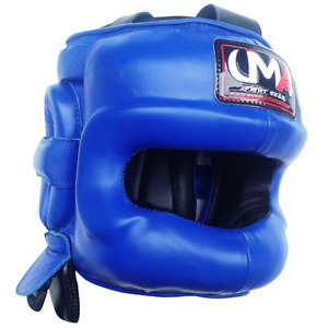 UMA R81 Men&Women Fight Sport No Contact Boxing HeadGear FaceProtector MMA Black