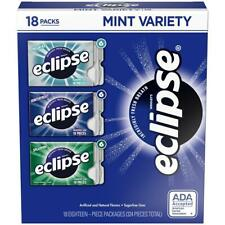 Eclipse Sugarfree Chewing Gum Variety Box 18 pk | 1 pk.