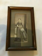 Antique Mahogany Photo Frame for standing  c. 1910