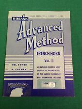 Rubank Advanced Vol. 2 French Horn (Paperback)