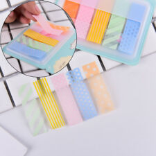 1Pc Stick Markers Book Page Index Flag Sticky Notes Office School Supplies YC