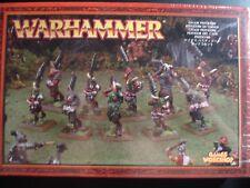 Warhammer Age of Sigmar Chaos Nurgle Beastmen Pestigors Pestigor Metal New OOP