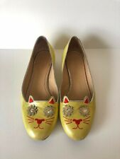 CHARLOTTE OLYMPIA Classic Embellished Kitty Flats