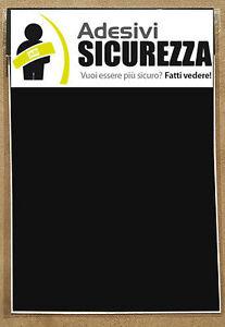 3M™ scotchlite 580 reflective vinyl tape black color 200mm x 300mm(2 pieces)