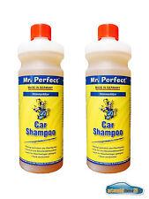 starkes Autoshampoo Autoreinigung Lackreinigung Konzentrat Autopflege 2x 1 Liter