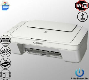 All-in-One Color Printer Copier Scanner Photo Compact Wired USB (Not Wireless)