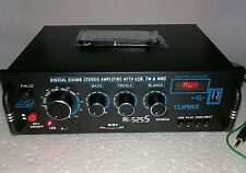 200 W DVD Stereo Audio Amplifier MP3 Music Player USB, FM Radio, Aux IN & Remote