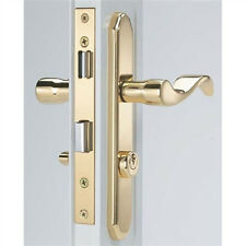Storm Door Mortise Handle Bright Brass Finish for 1 Inch to 1-1/2 Inch Thick