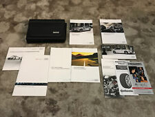 2014 Audi A8 S8 Owners Manual With Case And Navigation Oem Free Shipping