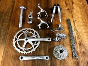 Campagnolo Record Chorus 8 speed groupset group set seatpost headset