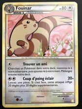 Carte Pokemon FOUINAR 21/123 Rare Heartgold Soulsilver FR NEUF