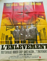 Cinema Plakat L'Kidnapping Telly Savalas Robert Culp James Mason 1975