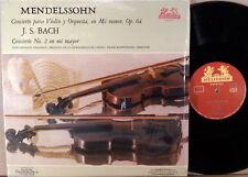 RARE HELIODOR MEXICO Mendelssohn JS Bach IGOR OISTRAKH Violin Concertos HELS-313