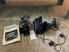 Sony Handycam Hi8 Lot Charger Bag Remote Cables CCD TR101