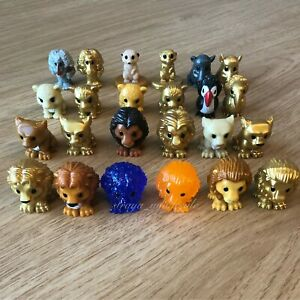 woolworths the lion king disney FULL SET with BOX ALL 24 OOSHIES COMPLETE SET