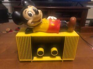 Vintage Mickey Mouse radio