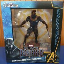 """NEW  Diamond Select Marvel Gallery Black Panther Movie Killmonger 9"""" PVC Diorama"""