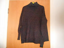 Ladies Marks and Spencer Polo Neck Jumper, Navy Mix, size 14, RRP £35!