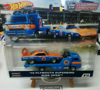 Hot Wheels Team Transport '70 Plymouth Superbird Wide Open #18