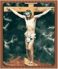 """Jesus Figure 16X20"""" Paint By Number Kit DIY Acrylic Painting on Canvas Frameless"""