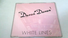 "DURAN DURAN ""WHITE LINES"" CD SINGLE 1 TRACKS RARE"