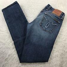 Lucky Brand Lola Straight Leg Jeans Women's 4/27 Ankle Stretch Dark Wash 30x31