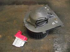 Audi A3 Fan Heater Blower Motor & Résistance 1J0907521 1J2819021 Inc Vat