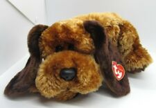 "Ty Classics MEMPHIS 14"" Beanbag Stuffed Animal DOG Plush 2001 Floopy Hound"