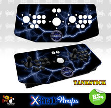 Mame V3 X Arcade Artwork Tankstick Overlay Graphic Sticker
