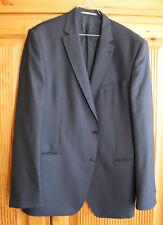 Herren-Sakko Gr. 56 blau von DIGEL, 100% Schurwolle, leider mit Mottenspuren!