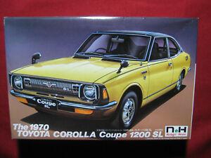 1970 Toyota Corolla Coupe 1200 SL 1:24 Doyusha Motorized Nostalgic Heroes Rare