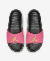 NEW Nike Air Jordan Break Slides Size 12 Black Pink AR6374-630 Sandal Hydro NIB