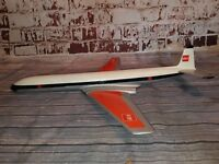 VINTAGE 1950'S 1960'S LARGE WOODEN DESK OFFICE MODEL AIRCRAFT BEA COMET  BOAC