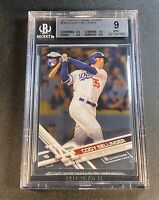 CODY BELLINGER 2027 TOPPS CHROME UPDATE #HMT10 ROOKIE RC BGS 9 W/3 BGS 9.5 SUBS