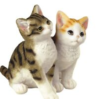Two Cats Figurine 4 Inch