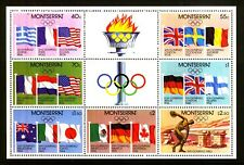MONTSERRAT m/s MNH 1980 SG468-474 OLYMPIC GAMES - MOSCOW Minature Sheet