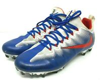 Nike Vapor Untouchable Pro iD 11.5 Football Cleats  872065-992  Red White & Blue
