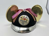 RARE 1980 DISNEY DISNEYLAND 25TH ANNIVERSARY MICKEY MOUSE EARS/HAT MINNIE/DONALD