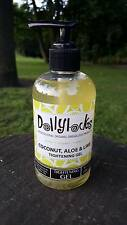 Dollylocks - Dreadlocks Tightening Gel - Coconut, Aloe & Lime (8oz/236ml) Dreads