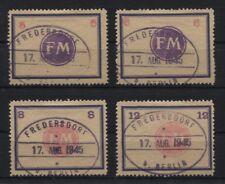 Lokal Fredersdorf Sp 174-177 gestempelt (B06169)