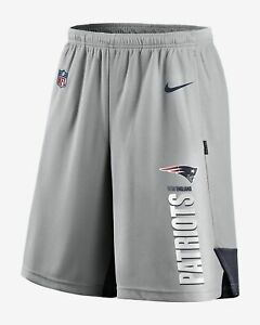 Nike New England Patriots Men Breathe Knit Player Shorts CJ8850 012 Size XXL
