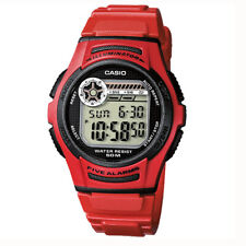 Reloj Casio para Niño W-213-4AVES 5 alarmas *** Envío 24h Gratis ***
