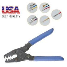 Professional Mini Carbon Steel Pliers Straight HandleTools Crimper Open Barrel
